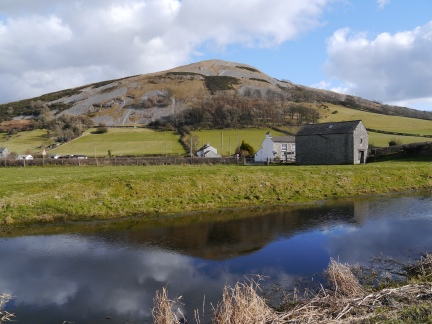 Farleton Fell and the Lancaster Canal