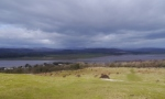 Looking across the Kent Estuary to the Lakeland Fells