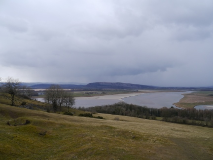 The Kent Estuary from Haverbrack
