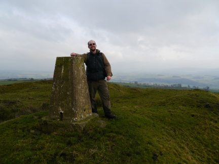 By the trig point on Beacon Hill