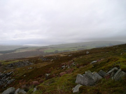 Caton Moor from the head of Windy Clough