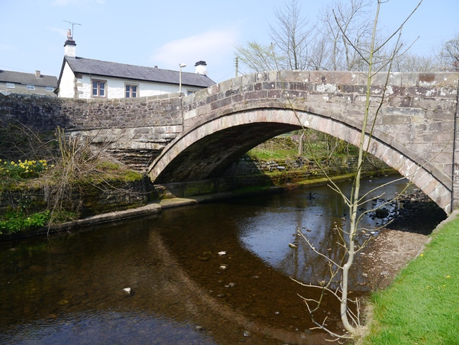 The bridge in Dunsop Bridge