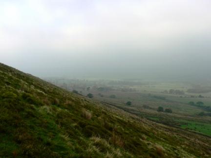 The slopes of Longridge Fell