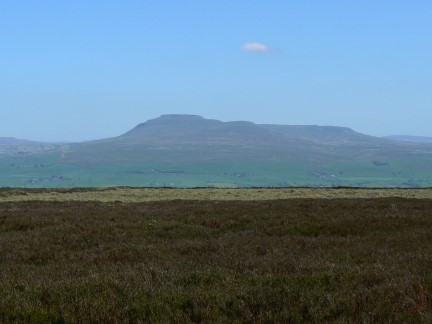 Ingleborough from Burn Moor