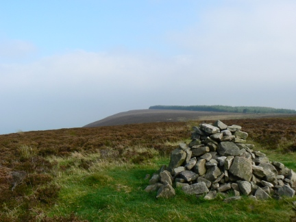 Looking back towards the top of Longridge Fell