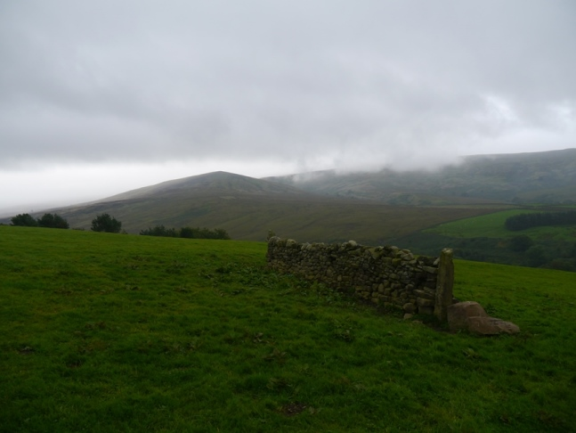 Mallowdale Pike from just below High Salter