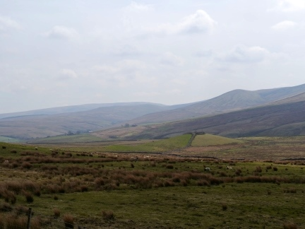 Mallowdale Pike near the head of Roeburndale