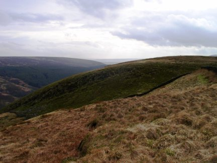 Approaching the top of Middle Knoll