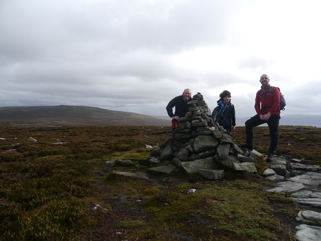 By the cairn near the top of Grit Fell