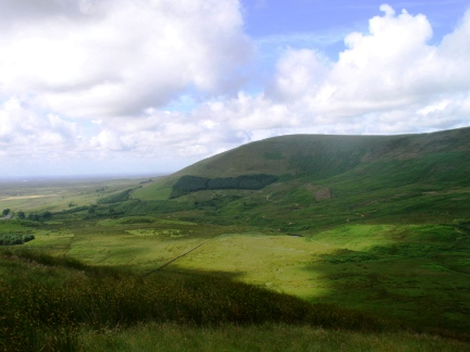 Parlick, one of the more accessible and popular fells in Bowland