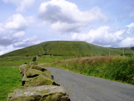 Parlick from the road leading to Fell Foot