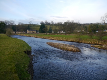 The River Ribble at Sawley