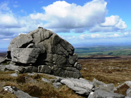 The fell is named after Ward's Stone - a large gritstone boulder on the summit