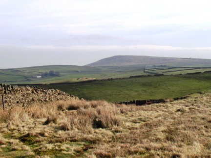 Weets Hill from Rimington Moor