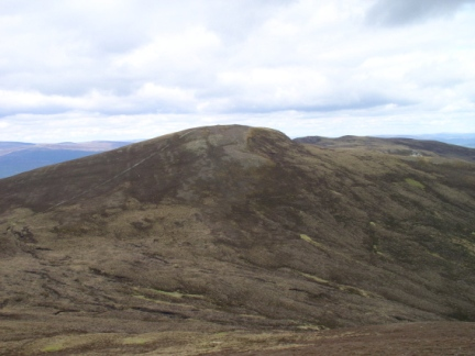 Looking back at Creagan Gorm