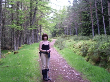 Lisa in the Queen's Forest
