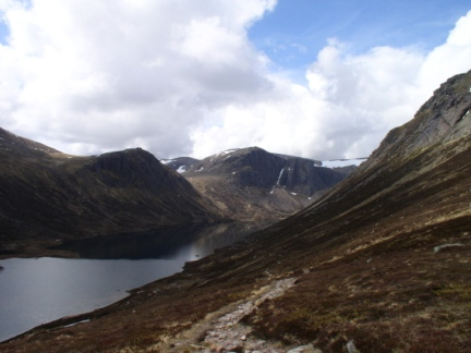 Loch A'an from The Saddle