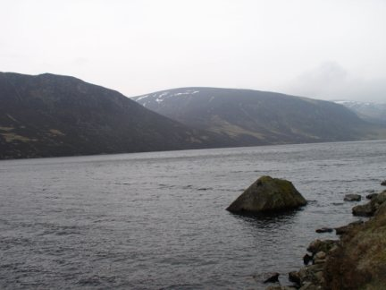 Loch Lee and Burnt Hill