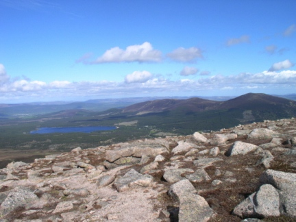 Loch Morlich and Meall a'Bhuacaille