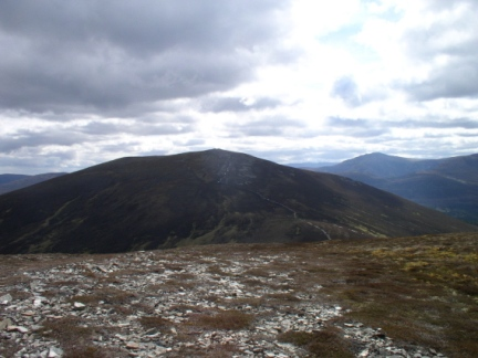 Meall a'Bhuacaille from Creagan Gorm