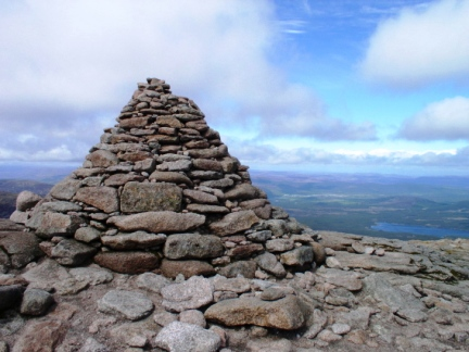 The summit of Cairn Gorm