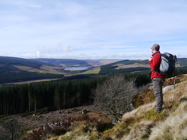 Catcleugh Reservoir from Byrness Hill