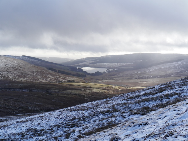 Catcleugh Reservoir and upper Redesdale