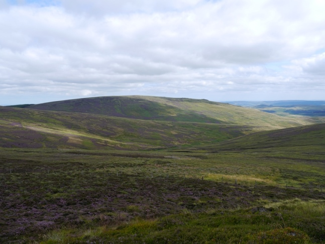 Dunmoor Hill from Little Standrop
