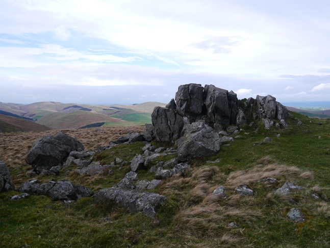 One of the outcrops on Easter Tor