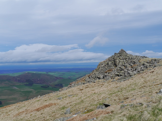 Looking back at the top of Hare Law