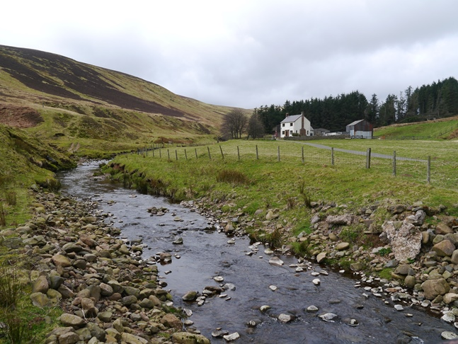 The remote farm at High Bleakhope