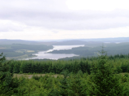 Kielder Water from Cat Cairn