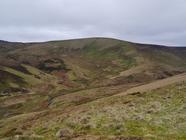Lint Lands from the descent of High Cantle