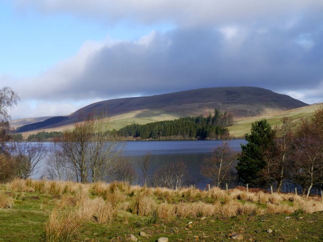 Lumsdon Law and Catcleugh Reservoir