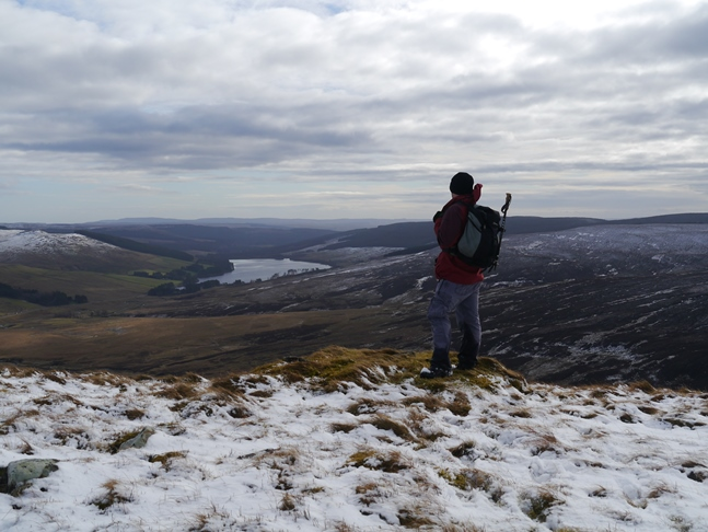 Looking towards Catcleugh Reservoir from Carter Pike