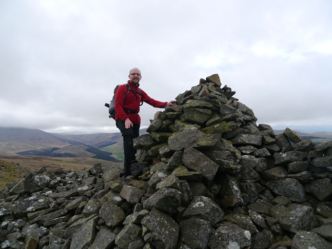 By the large cairn on Hare Law