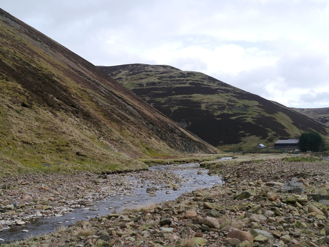 The River Breamish and Shill Moor