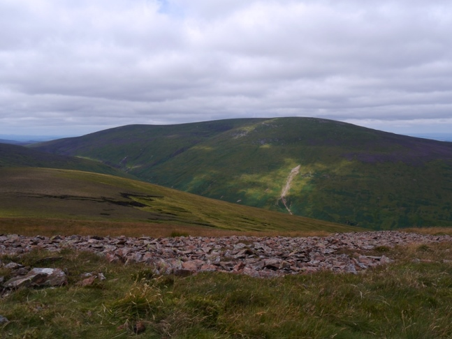 The Cheviot from Hedgehope Hill