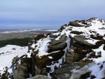 The top of Simonside