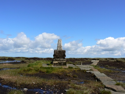 The summit of The Cheviot
