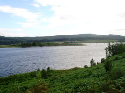 The inlet of Whickhope