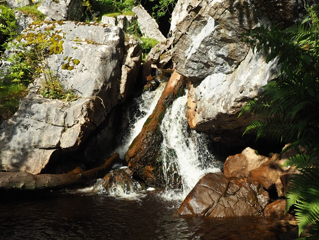 One of the small waterfalls in Ais Gill
