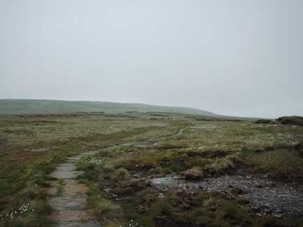 The Pennine Way climbing Great Shunner Fell