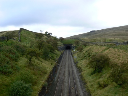 The entrance to Blea Moor Tunnel