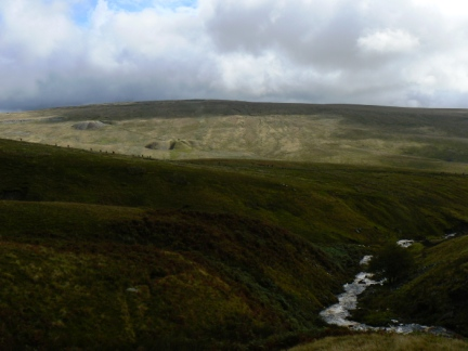 Looking back at Blea Moor