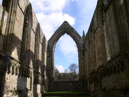 Inside Bolton Abbey