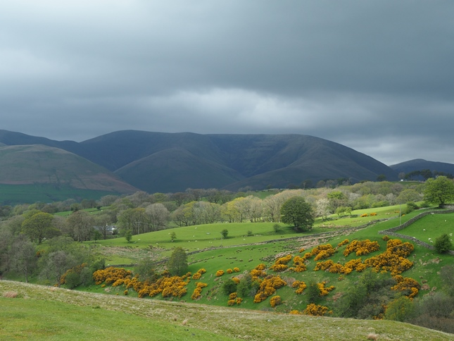 Looking towards Calders in the Howgill Fells