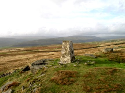 The Capplestone Gate trig point