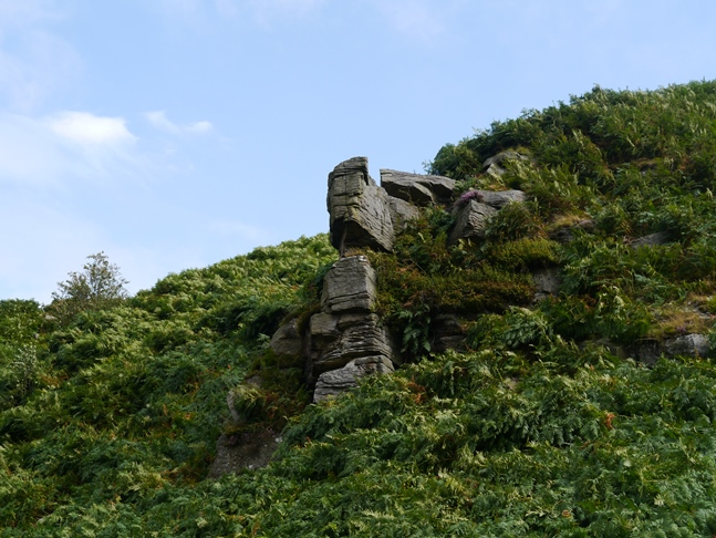 One of the outcrops on Care Scar