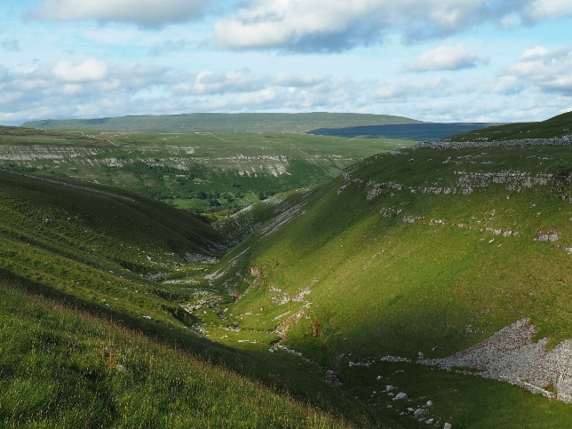 The view down Cote Gill towards Littondale